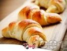 Рецепта Меки домашни козуначени кифлички с мармалад